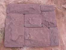 2015 Hot sale rough sandstone block for construction