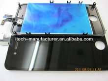 Cell phone Spare part for iphone 4 lcd touch digitizer