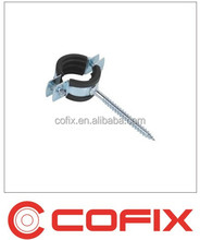 842 nailed pipe clamp for plastic tube