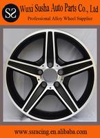 """16"""" to 20"""" black machine face replica aluminum alloy wheel for GLK300"""