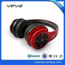 New Products 2015 Innovative Product Stereo Wireless Bluetooth Headphone with Memory Card
