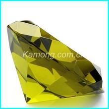 Pisapapeles de cristal de diamante de alta calidad para la boda y la decoración del hogar