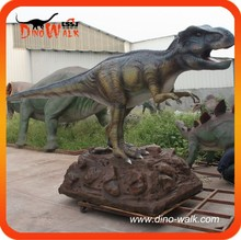 Foam silicone rubber animatronic realistic dinosaur for sale