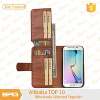 For S6 case, for Samsung S6 case, Wallet leather case for Samsung galaxy S6