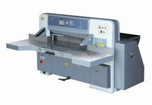 double hydraulic paper guillotine cutter