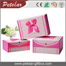 attractive fancy paper custom logo gift boxes