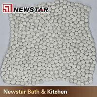 Newstar foot massage mat river pebble stone floor mat for sale