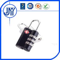 China supplier custom approved tsa key code padlock