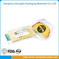 Rulo normal şeffaf plastik yumuşak pa/EVOH şeffaf film ambalaj çanta