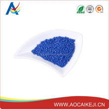 HDPE/LDPE / PA blue plastic masterbatch for transport and storage containers