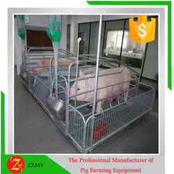 Pig farming cages - sows farrowing crate for sale