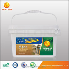 Self cleaning functional interior waterborne paint