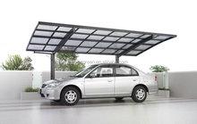 Freesky Aluminum Frame Cantilever Carport In Guangzhou