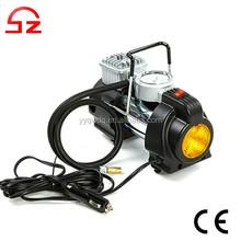2015 Portable 12v Car Air Compressor with LED light