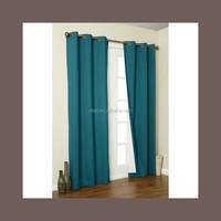 2015 wholesale elegant coating black out window curtains
