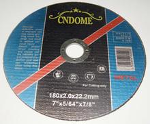 flat cutting disc for inox Dome brand cutting wheel