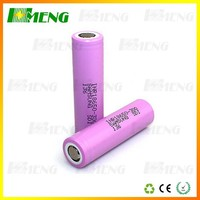2015 latest Samsung 3000mAh 18650 20A discharge rate rechargeable battery for mechanical mod High Quality High performance