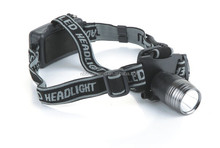 Waterproof 1W LED headlamps headlamp bailong 1W LED headlamps