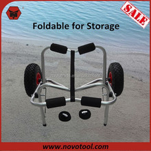 2015 Hot Sale Two-Wheel Aluminum Foldable Canoe Trolley/Kayak Trolley Cart