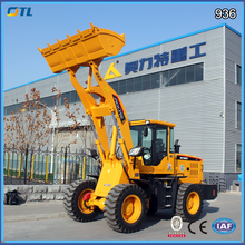 China earth-moving wheel loader 936, excavator, 1.7cbm bucket teeth strong powerful, hydraulic motor