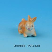 Popular ceramic easter decoration with rabbit design