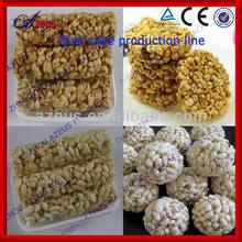 660 Popped rice candy bar forming machine and Rice bar plant