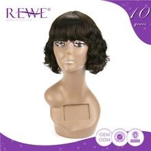 Comfort Make To Order Clean And Soft May Hair Natural Kamo Knots Lace Wigs Short