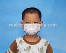 printed white/blue/green nonwoven children face mask