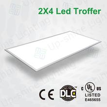 For North America market UL DLC listed commercial led office pendant lighting 60w 2x4 led troffer light