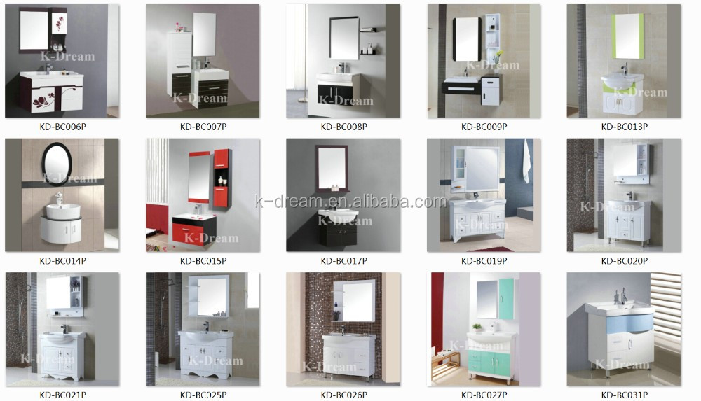 욕실 PVC 세면대 캐비닛, 유리 미닫이 문 kd-bc84p 욕실 캐비닛-욕실 ...