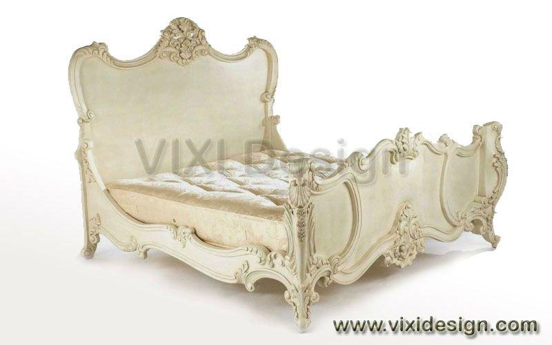 Divan bed classic white painted for Divan vintage