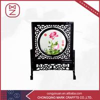 100% Eco-Friendly Handmade Natural Style Shu Embroidery Wall Art Decor