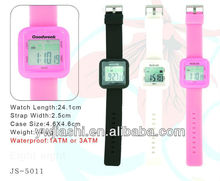 Square LCD Watch Candy Silicone Watch Valentine Gift Watch