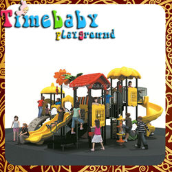 Factory Directly Supply Cartoon Characters Park Equipment Outside Kids Playhouse