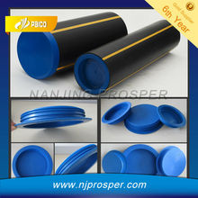 Plastic PE Gas Pipe Plug Inserts and Protector