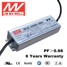 led driver ul approved 240w 36V Waterproof IP67 dimmable led driver with 6 years warranty UL TUV CB CE RoHS CCC EMC