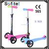 New Kids Adjust 3 wheel mini kick scooter