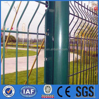 powder coating /hot dipped galvanized wire mesh fence
