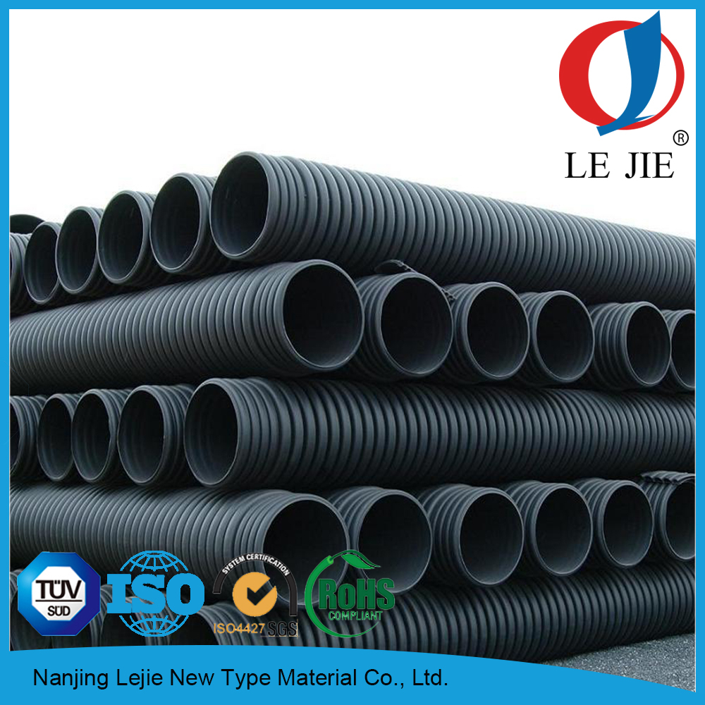 Types of corrugated plastic drainage pipe buy 8 for Plastic plumbing pipe types