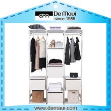 2015 Hot sell durable metal assemble wardrobe storage furniture price