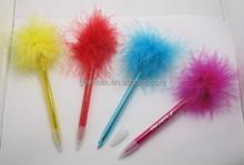 promotional decorative feathers pen