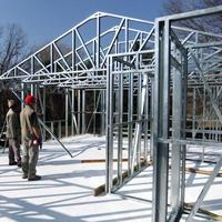 light steel structure residential