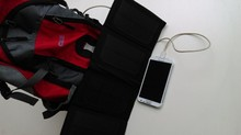 Outdoor Usage Flexibility Foldable Solar Panel Backpack Charger dual usb 7W Solar Charger for traveling,hiking