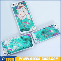 newest popular 3d liquid glitter star phone case for iphone 5 5s