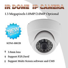 Hot New Sell 1.3Megapixel 960P cheap megapixel dome ip poe camera FCC,CE,RoHS Certification