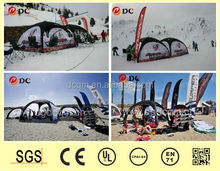 2015 durable wind-proof and UV-resistant folding tent for beach or event