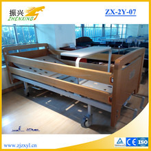 Good Quility Home Medical Bed of Wood Side Rail for Patient