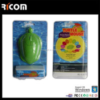 Cheapest Mini wired 3D Optical Cute the Turtle shape Mouse Mice Laptop PC Comfort Hand Cartoon USB Computer mouse gamer