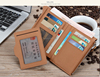 2015 newest Custom Handmade Fashion pu Leather micro sim card holder