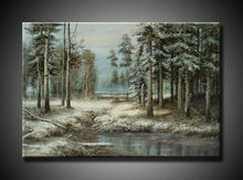 top designs art painting forest scenery